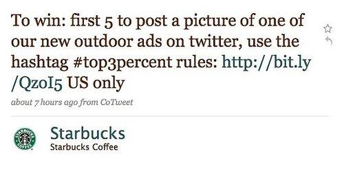 Starbucks Launches Massive Social Network Marketing Blitz 1