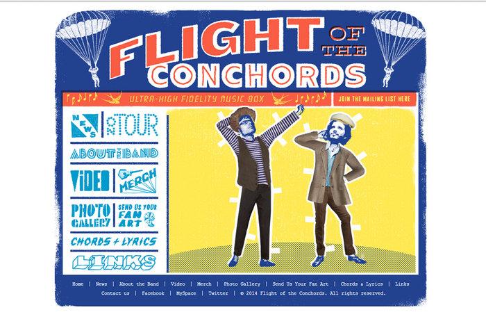 web design of flightconcords