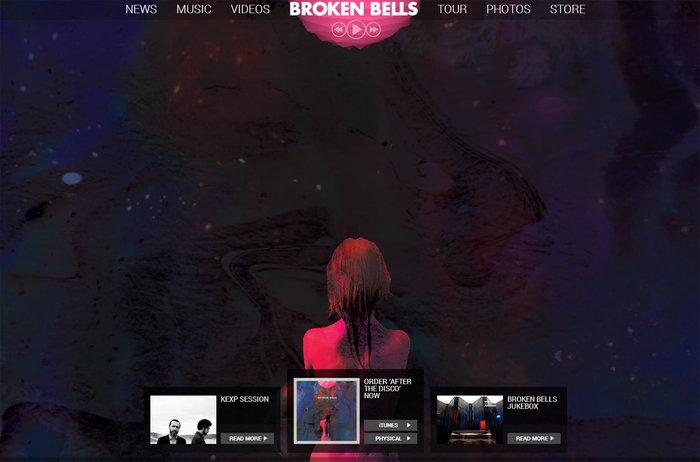 web design of brokenb