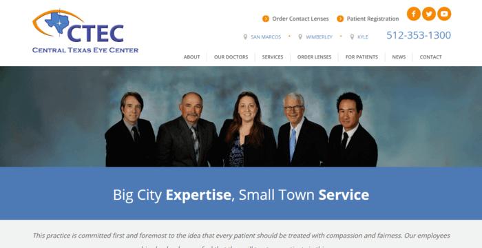 web design of CTEC