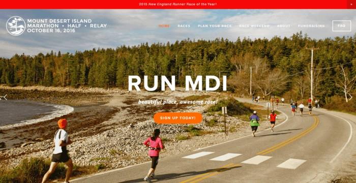 racing web design - runmdi