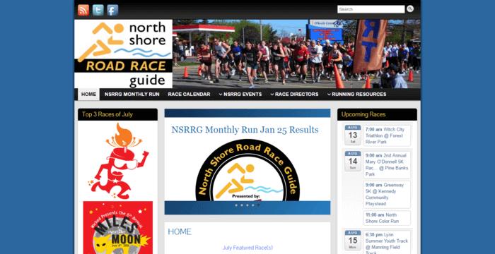 racing web design - North Shore