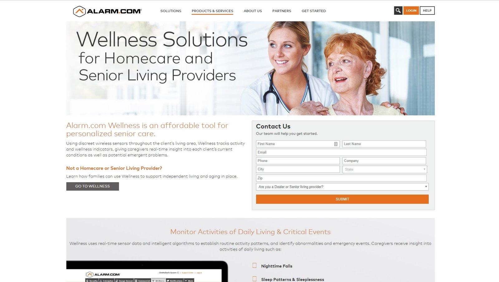 web design of beclose
