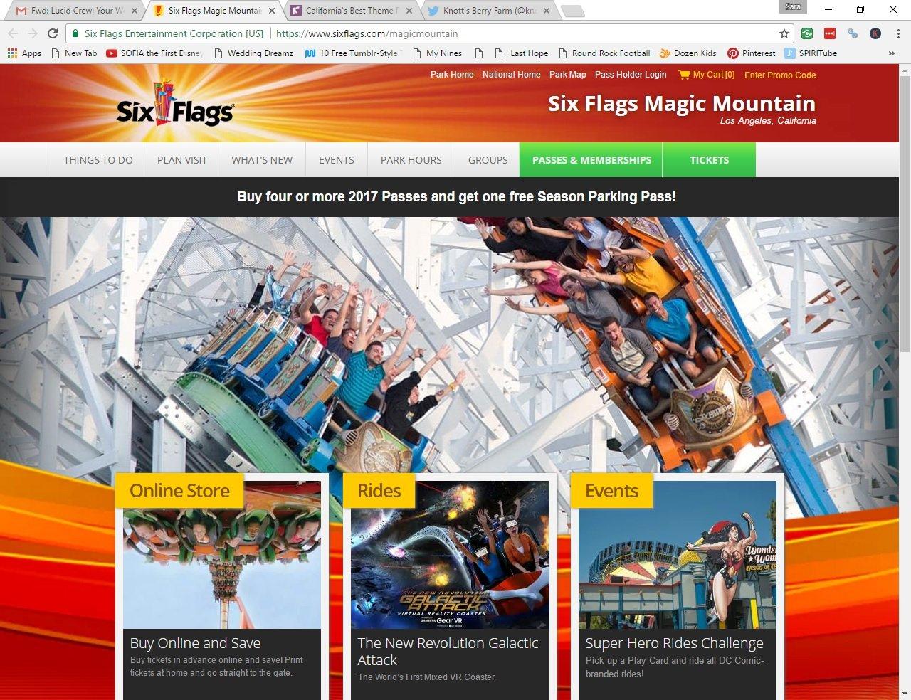 Six FlagsMagic