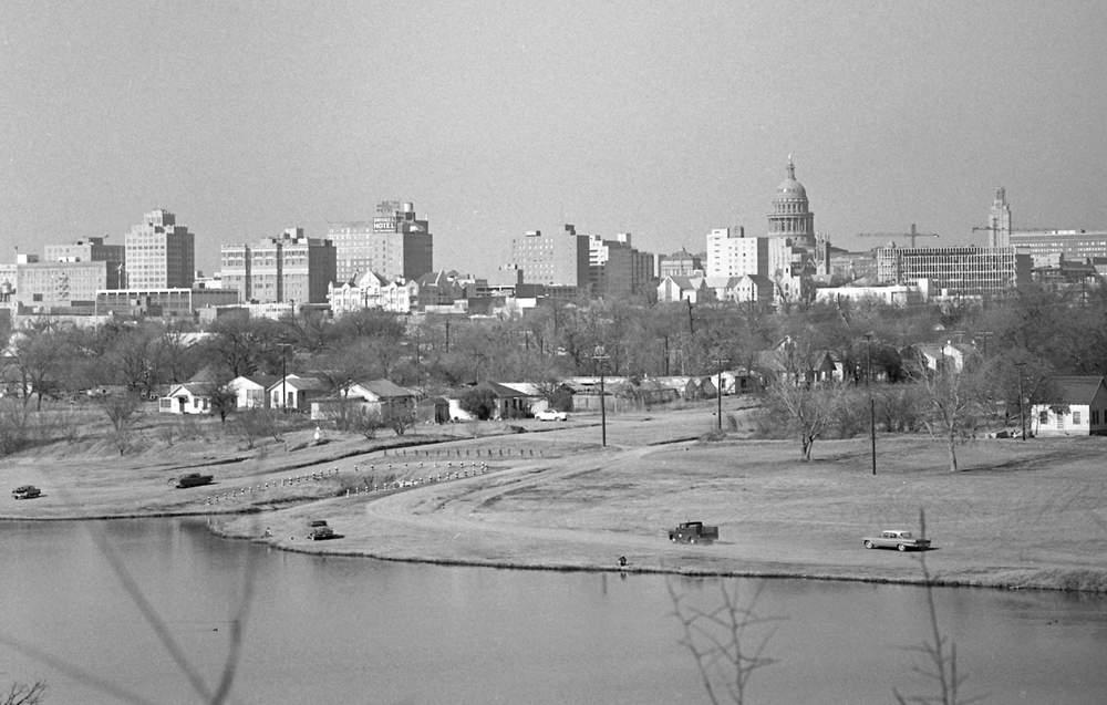 downtown Austin skyline 1964
