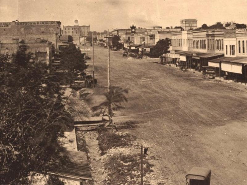 Austin downtown 1870