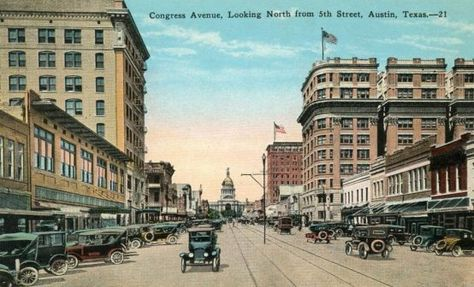 Austin Congress Ave 1920s