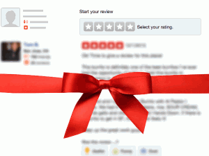 soliciting and rewarding online business reviews